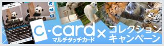 Cカード(マルチタッチカード)コレクションキャンペーン